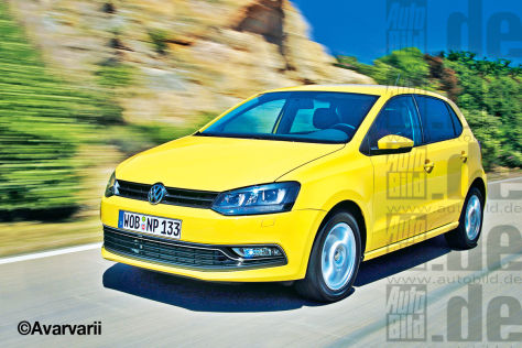 VW Polo Facelift
