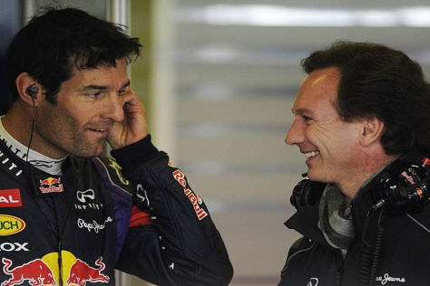 Mark Webber und Christian Horner gehen ab 2014 getrennte Wege