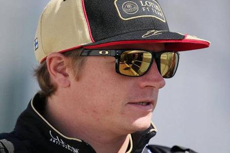 Kimi Räikkönen würde der Abschied von Lotus nicht leicht fallen