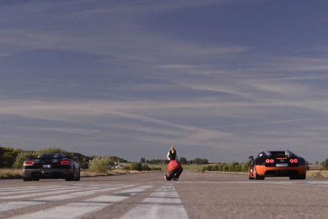 Bugatti Veyron gegen Koenigsegg Agera S