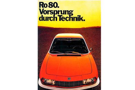 Audi-Werbeslogan, vom NSU Ro 80 geerbt