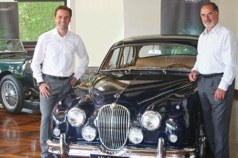 Bernd Pischetsrieder (r.) mit Michael Mandat