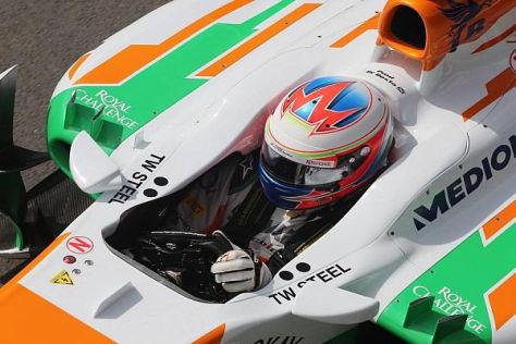 Umsonst bemüht: Paul di Resta erleidet beim Heimrennen eine Enttäuschung