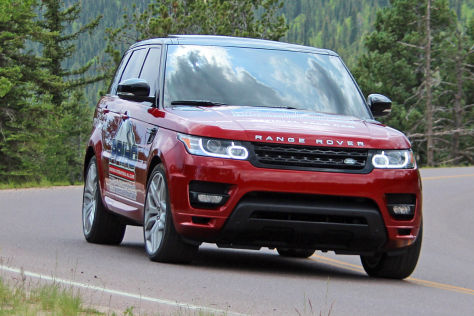 Range Rover Sport Pace Car Pikes Peak