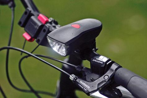Fahrradlampe Akku