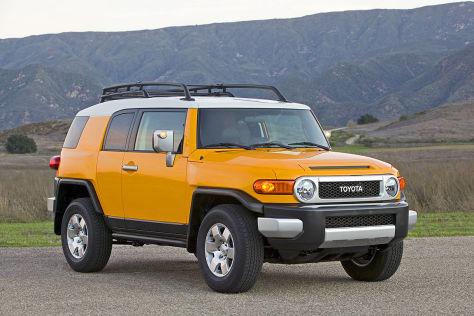 Toyota FJ Cruiser: Rückruf