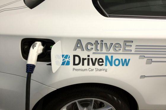 BMW Active Ladevorgang