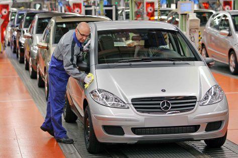 Auto-Produktion weltweit
