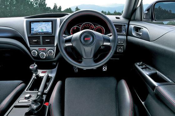 Subaru WRX STI tS Type RA Cockpit