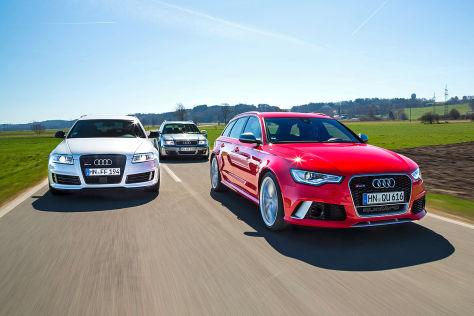 Audi RS 6 Avant C5 C6 C7