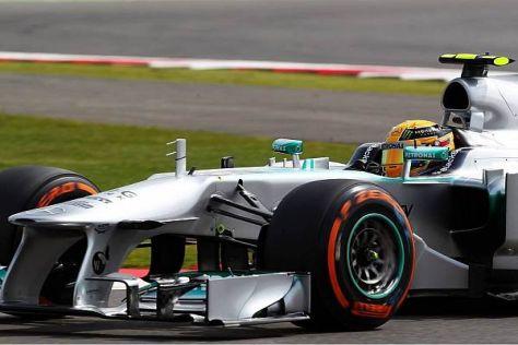 Trotz guter Ergebnisse sind Lewis Hamilton und der F1 W04 noch keine richtige Einheit