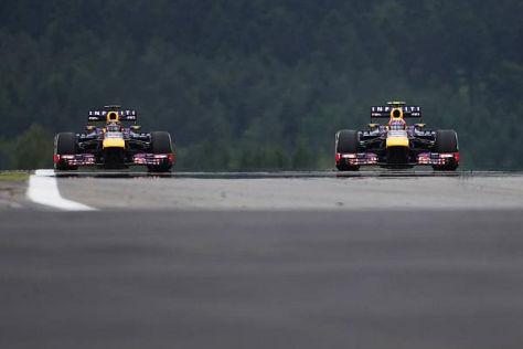 Sebastian Vettel holte sich am Freitag die Bestzeit auf dem Nürburgring