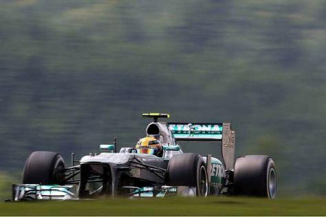Lewis Hamilton holte sich seine zweite Pole innerhalb von sieben Tagen...