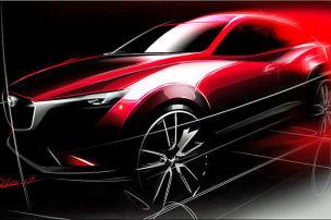 Erstes Bild vom Mazda CX-3