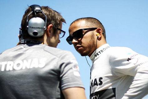 Lewis Hamilton braucht vom 17.-19. Juli eine andere Beschäftigung