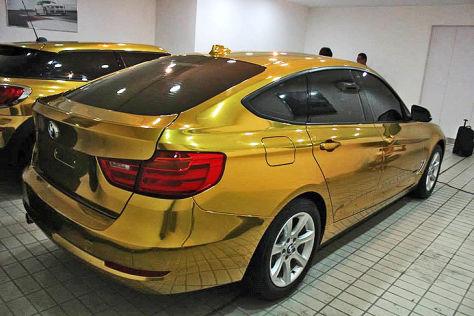 BMW 3er GT hinten rechts