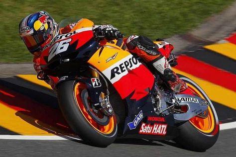Dani Pedrosa gewann die vergangenen drei MotoGP-Rennen am Sachsenring