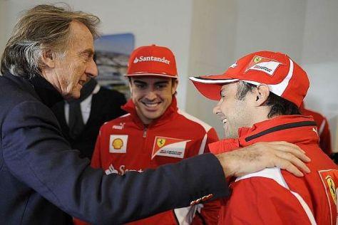 Ferrari-Boss Luca di Montezemolo glaubt an die Fähigkeiten von Felipe Massa