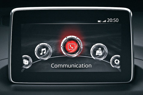 Mazda3 (2013): Neues Multimedia-System