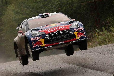 Im Jahr 2012 hieß der Finnland-Sieger Sebastien Loeb