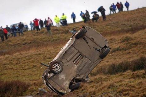 Überschläge wie hier von Andreas Mikkelsen gibt es in der WRC immer wieder