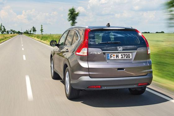 Honda CR-V 1.6 i-DTEC Heckansicht