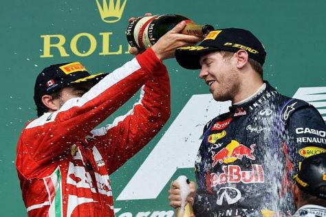 Fernando Alonso würdigt die Leistungen von Sebastian Vettel 2013