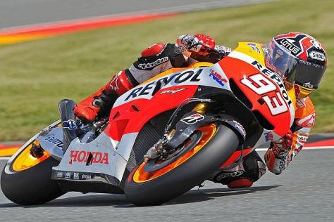 Marc Marquez holte seine dritte Pole-Position in seiner Rookie-Saison