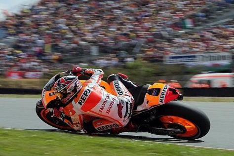 Marc Marquez gelang am Sachsenring der zweiter Saisonsieg
