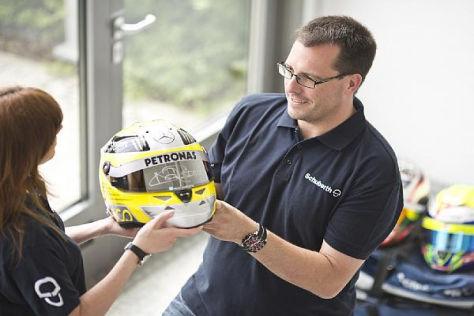 Der Helm von Nico Rosberg spielte einen fünfstelligen Erlös ein