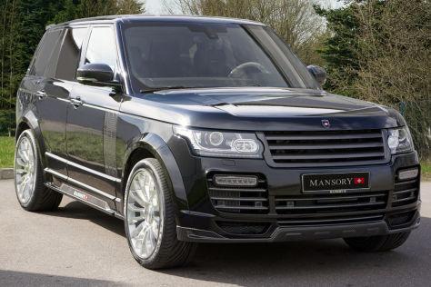 Mansory Range Rover Vogue schräg vorne