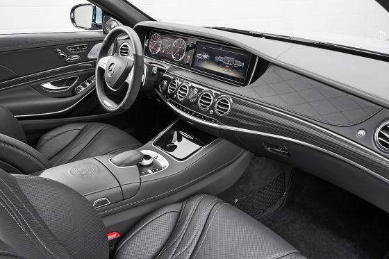 Mercedes S 63 AMG Innenraum