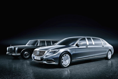 Mercedes S-Klasse: Extralang-Version geplant
