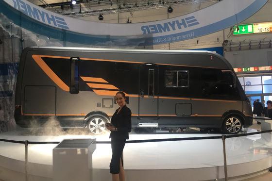 Prototyp Hymer S-Klasse Präsentation 2017