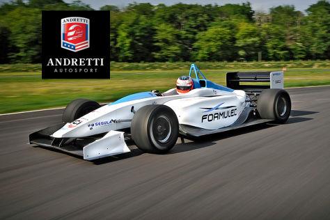 Formel E: Andretti dabei