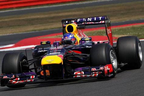 Bestzeit und Kiesbett-Besuch: Daniel Ricciardo in Silverstone
