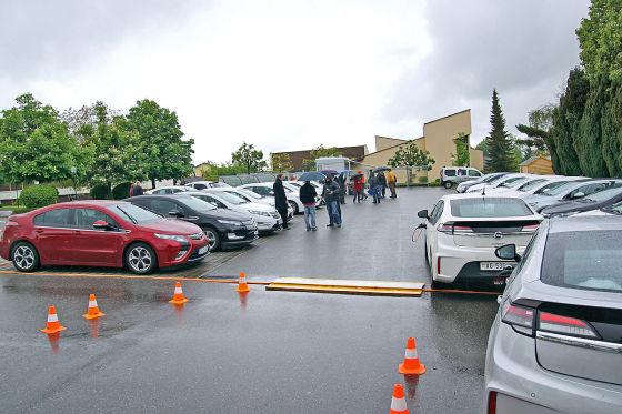 Opel-Ampera-Treffen in der Schweiz