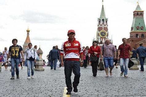 Kamui Kobayashi gefällt es in Moskau - Ferrari lädt ihn wohl nicht mehr ein