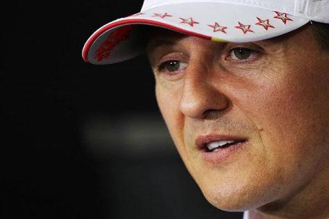 Michael Schumacher verfolgt die Formel 1 heute lieber vom heimischen Sofa