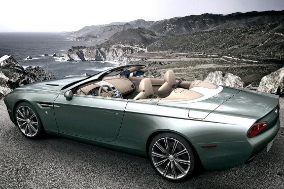 Aston Martin Zagato DB9 Spyder