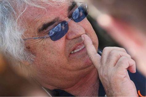 Falvio Briatore sorgte mit seinem unkonventionellen Stil für Aufregung