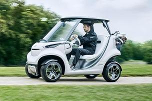 Mercedes Garia Golf Car (2016): Vorstellung