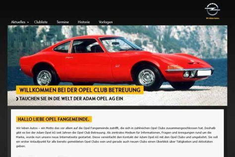 Neue Plattform für Opel-Clubs