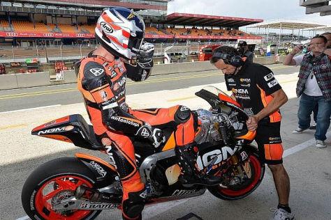 Fährt Colin Edwards in der kommenden Saison bei Forward eine FTR-Yamaha?