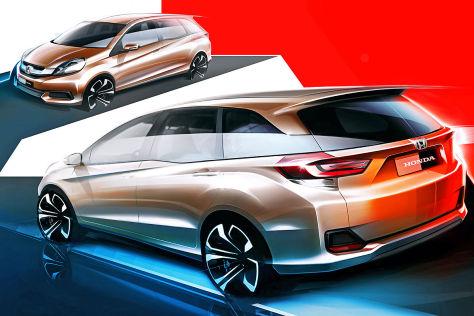 Honda MPV Skizze (2013)