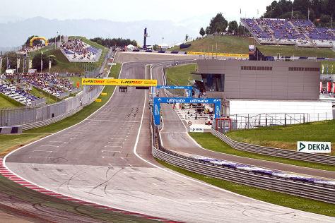 Formel 1-Rennstreck in Spielberg