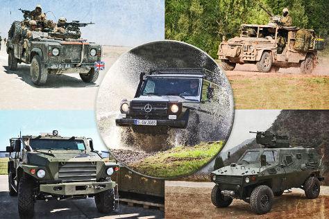 Mercedes geländewagen militär