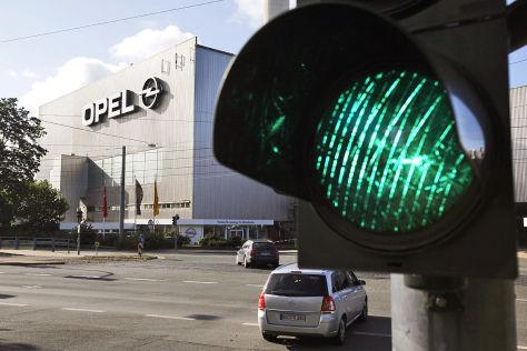 Opel-Werk in Rüsselssheim