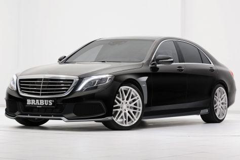 Mercedes-Benz S-Klasse Brabus schräg vorne