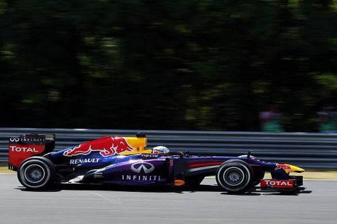 Sebastian Vettel sicherte sich die Freitagsbestzeit in Ungarn